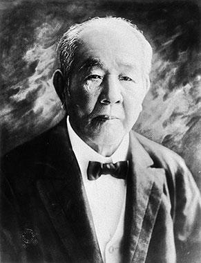 渋沢栄一の顔写真