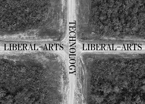 「テクノロジーとリベラルアーツの交差点」のイメージ写真