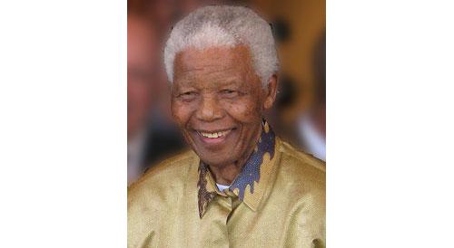 ネルソン・マンデラ大統領 Nelson Mandela in Johannesburg, Gauteng, on 13 May 2008.
