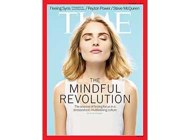 『TIME』The Mindful Revolution   Feb. 3, 2014の表紙画像
