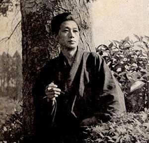 文芸評論家 小林秀雄(1902-1983)の写真