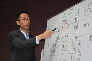 講師松山淳の研修風景