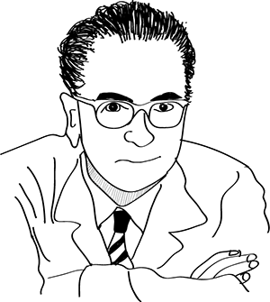 ヴィクトール・E・フランクル(Viktor Emil Frankl)の自画像