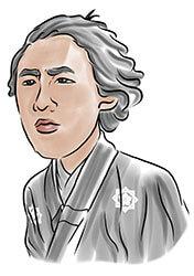 坂本龍馬の自画像